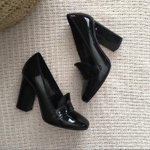 Aldo Patent Leather High Heel Pumps